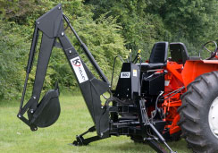 Kelley Manufacturing : Tractor Backhoes & Parts Manufacturer